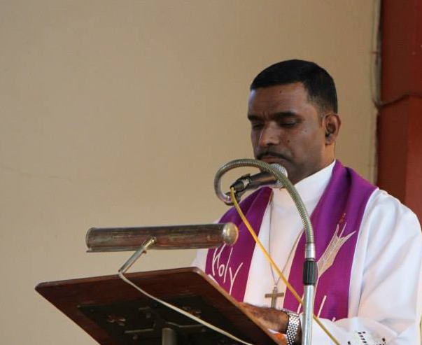 Father Sean Major-Campbell, Rector of Christ Church in Vineyard Town, Jamaica