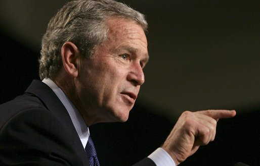 President George W Bush Human Rights First