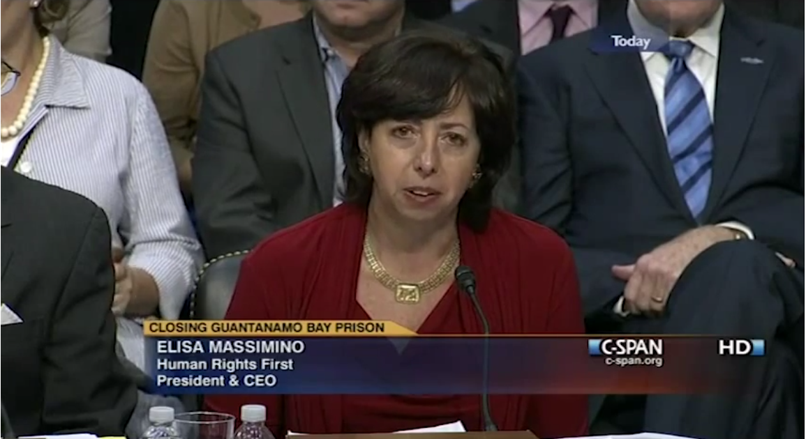 Elisa Massimino Testifies before Congress on GTMO