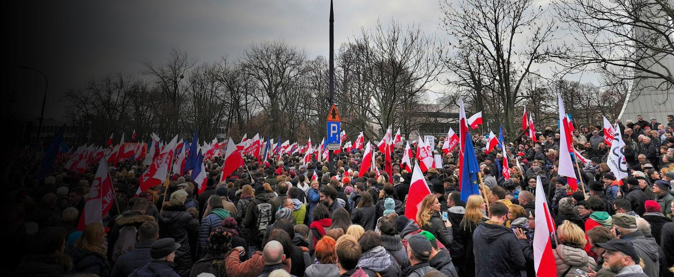 Demonstrations in Poland