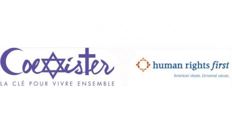 CoExister and Human Rights First Logos