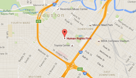 Human Rights First -- Houston office