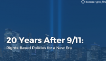 20 Years After 9/11: Rights-Based Policies for a New Era
