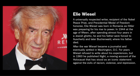 Famous Refugee: Elie Wiesel