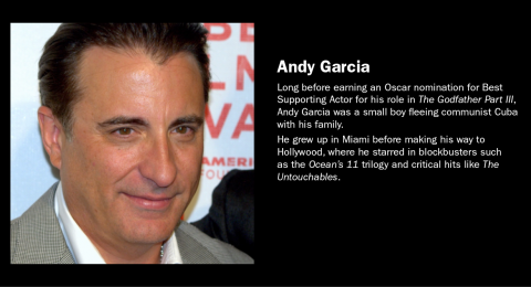 Famous Refugee: Andy Garcia