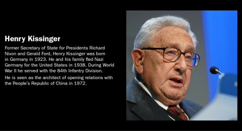 Famous Refugee: Henry Kissinger
